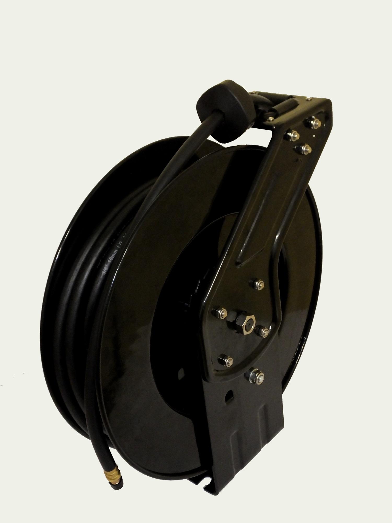 druckluftschlauch aufroller druckluft trommel schlauchaufroller automatik 15 m ebay. Black Bedroom Furniture Sets. Home Design Ideas