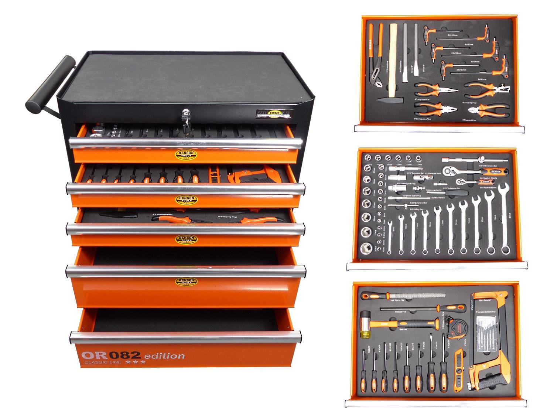 werkstattwagen gef llt mit werkzeugkasten werkzeugkiste. Black Bedroom Furniture Sets. Home Design Ideas