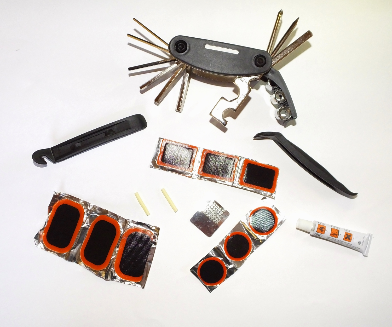 fahrrad reparatur satz werkzeugsatz notfall set ebay. Black Bedroom Furniture Sets. Home Design Ideas